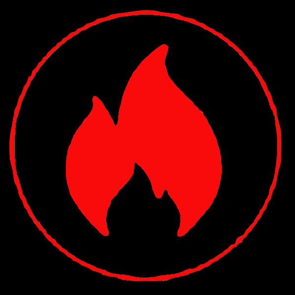 creativeflame red flame logo
